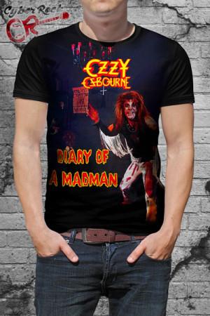Camiseta Ozzy Osbourne Madman