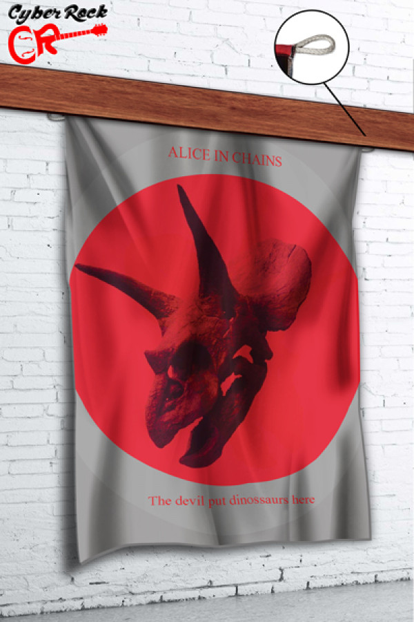 Bandeira Alice in chains The Devil Put Dinossaurs Her