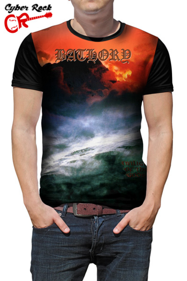Camiseta Bathory Twilight of the Gods