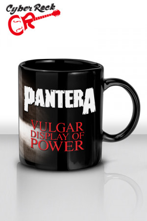Caneca Pantera Vulgar Display of Power