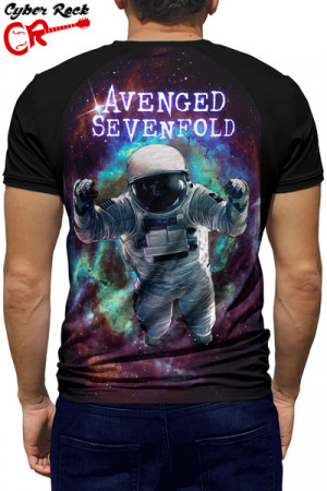 Camiseta Raglan Avenged Sevenfold The Stage - Manga Curta