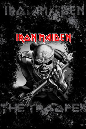 camiseta iron maiden trooper