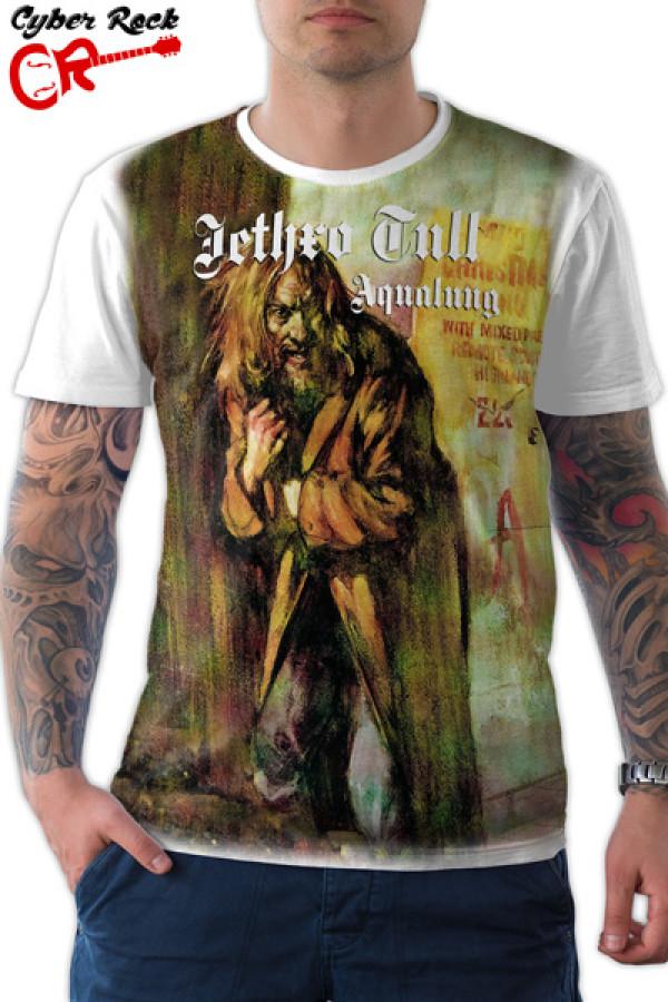 Camiseta Jethro Tull Aqualung- branca