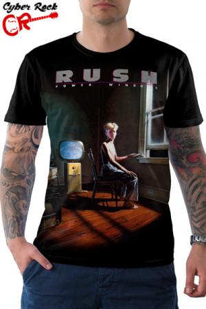 Camiseta Rush Power Windows
