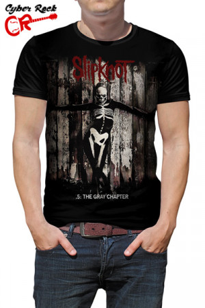 Camiseta   Slipknot - .5: The Gray Chapter