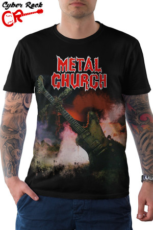 camiseta Metal Church