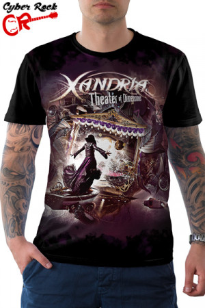 Camiseta Xandria Theater Of Dimensions