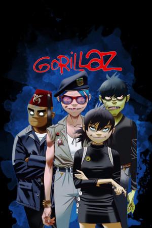 Blusinha Gorillaz