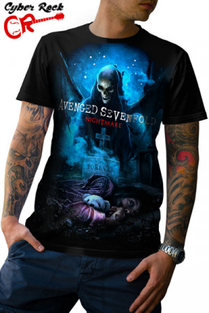 Camiseta Avenged Sevenfold Nightmare