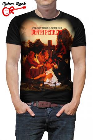 Camiseta Witchfinder General - Death Penalty