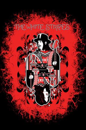 Camiseta The White Stripes
