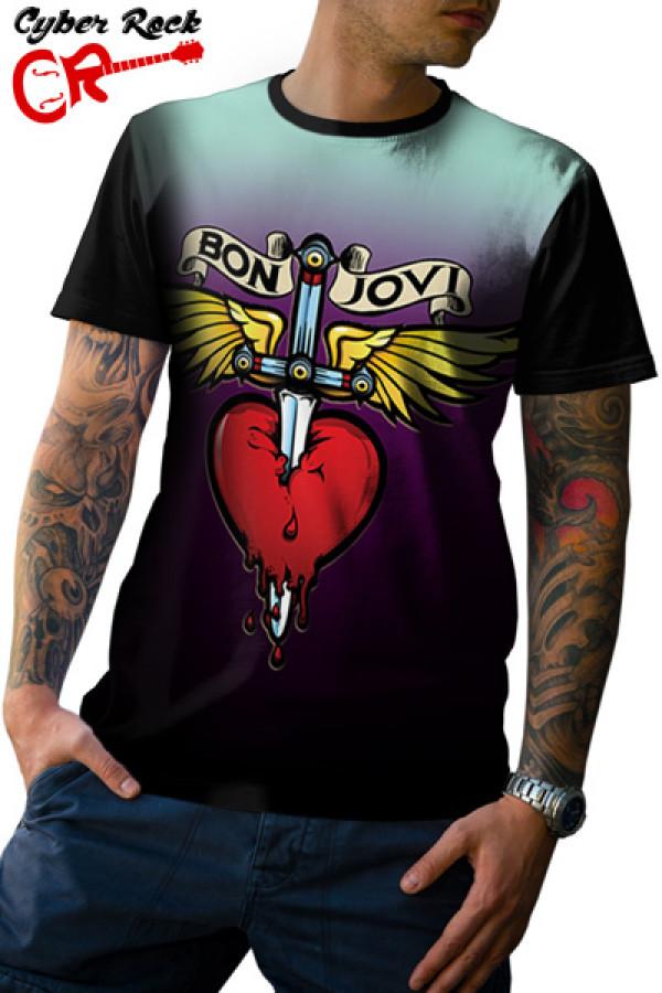 Camiseta Bon Jovi Logo 2