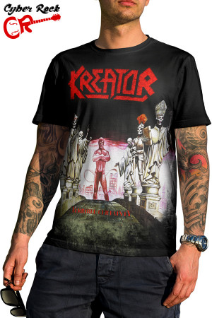 camiseta Kreator Terrible Certainty