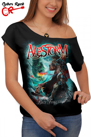 Blusinha Alestorm Back Through Time