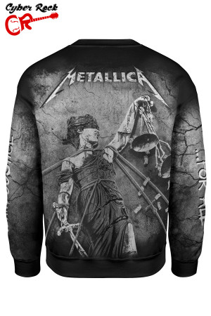Blusa moletom Metallica and justice for all