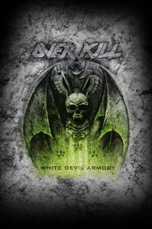 Camiseta Overkill White Devil Armory