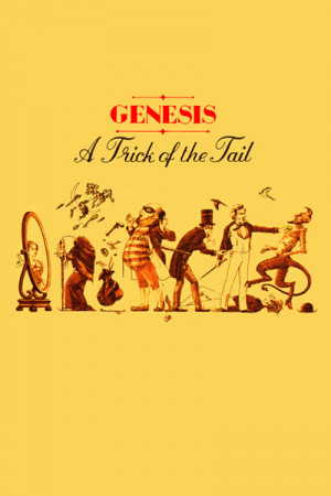 Camiseta genesis a trick of the tail