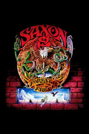 Camiseta Saxon Forever Free