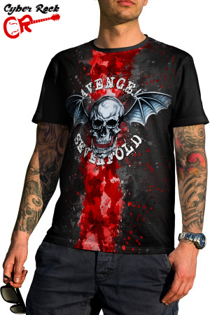 Camiseta Avenged Sevenfold Logo