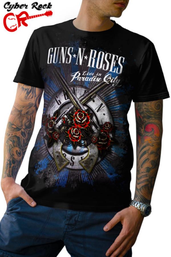 Camiseta-Guns N Roses-Paradise City