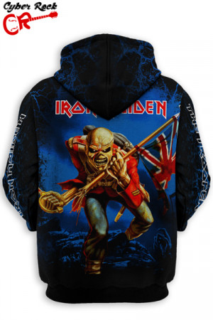 Blusa Moletom Iron Maiden The Trooper