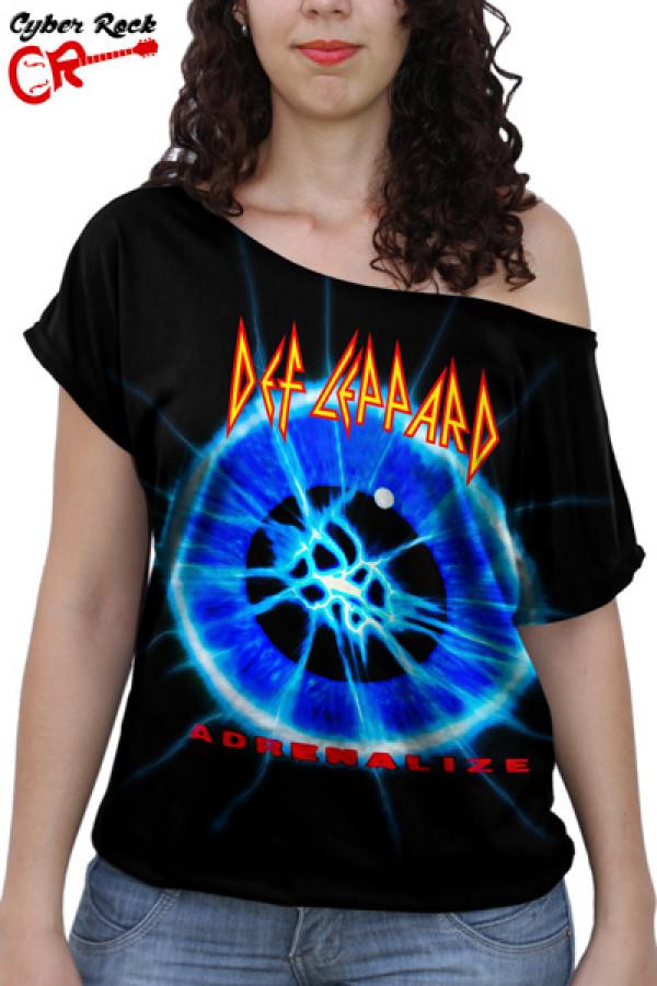Blusinha Def Leppard Adrenalize