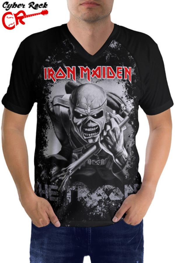 Camiseta Raglan Iron Maiden the Trooper