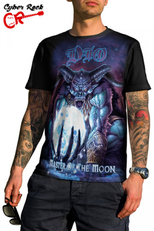 Camiseta Dio Master of the Moon