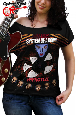 Blusinha System of a Down Hypnotize