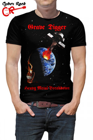 Camiseta Grave Digger Heavy Metal Breakdown