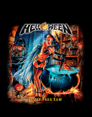 Camiseta Helloween Better Than Raw