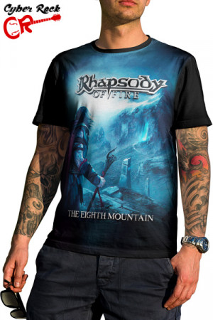 Camiseta Rhapsody of Fire the Eight Mountain