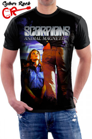 Camiseta Scorpions Animal Magnetism