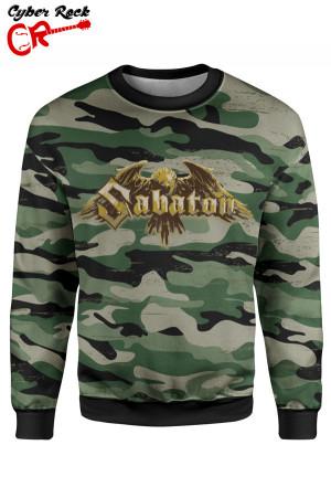 Blusa moletom Sabaton camo