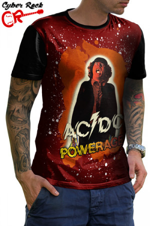 Camiseta AC DC Powerage
