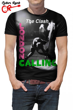 Camiseta The Clash London Calling