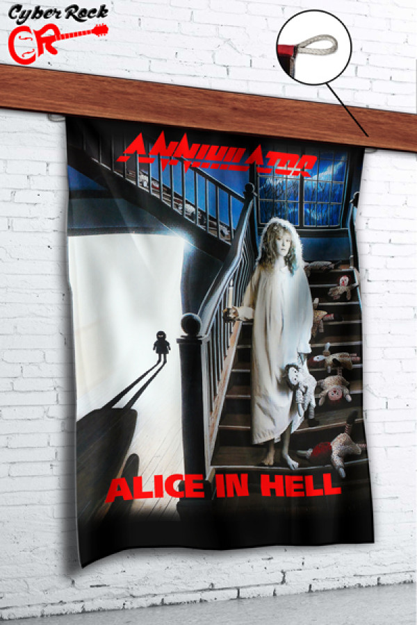 Bandeira Annihilator Alice in Hell