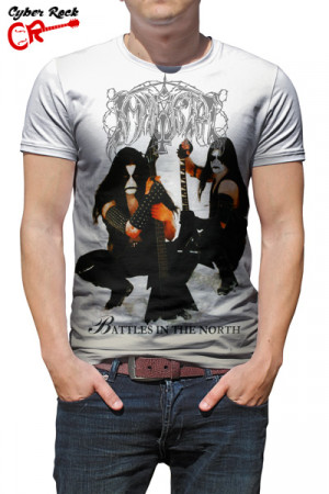 Camiseta Immortal - Battles in the North
