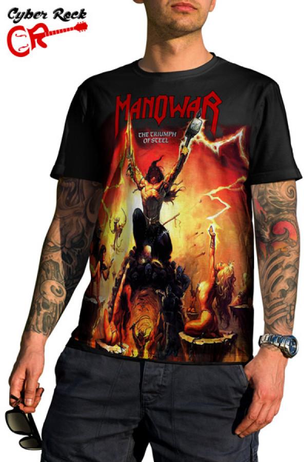 Camiseta Manowar the Triumph of Steel