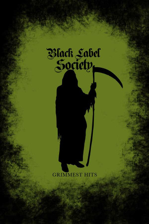 camiseta Black Label Society Grimmest Hits