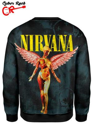 Blusa Moletom Nirvana costas