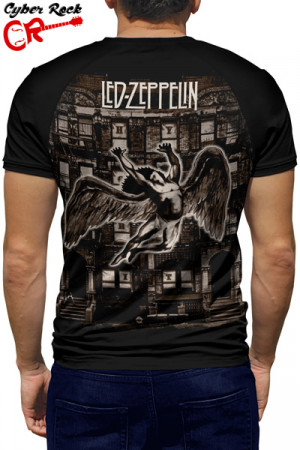 Camiseta Raglan Led Zeppelin Physical Graffiti