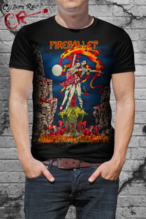 Camiseta Fireballet Night on Bald Mountain