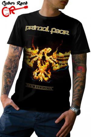 Camiseta Primal Fear New Religion