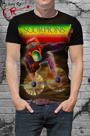 Camiseta Scorpions Fly to the Rainbow