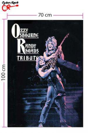 Bandeira Ozzy Osbourne Randy Rhoads Tribute