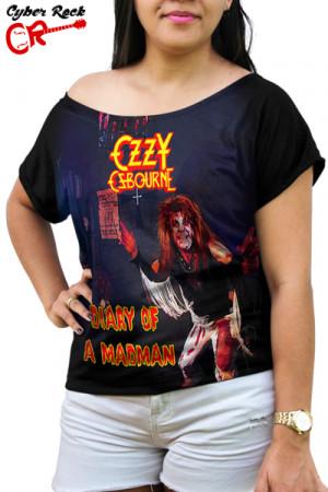 Blusinha Ozzy Osbourne - Diary of a Madman
