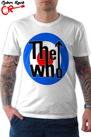 Camiseta The Who Logo - Branca