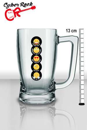 Caneca Chopp Rock Beer dir