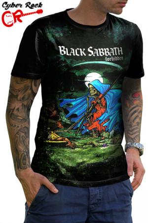 Camiseta Black Sabbath Forbbiden
